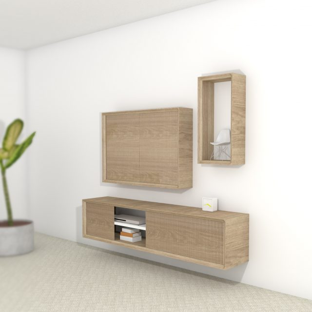 Impression cabinet Hide sneak peak